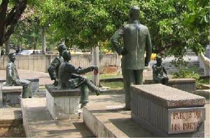 Mes del Libro Hispano Parque de los Poetas Cali