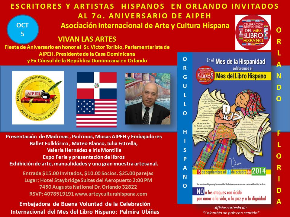 Aniversario AIPEH Mes del Libro Hispano