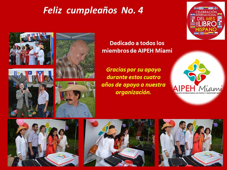 Cumpleaños AIPEH Miami