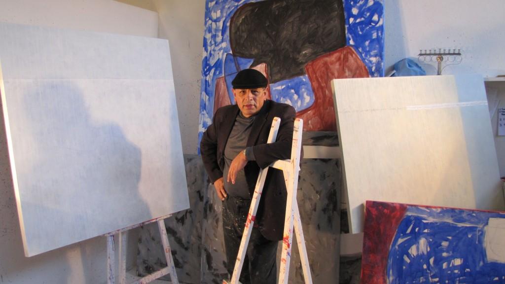 El artista plástico Fernado M. Díaz.
