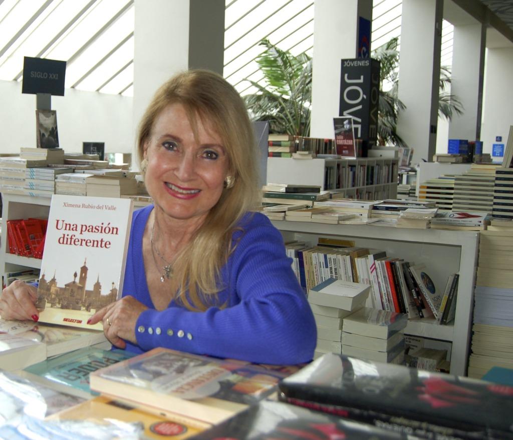 Escritora Ximena Rubio del Valle