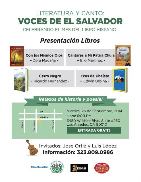 Invitacion Mes del Libro LA Rosa Rivas.