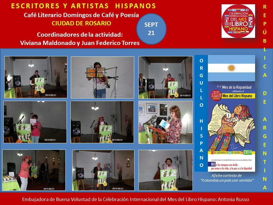 Mes del Libro Hispano Rosario Argentina (1)