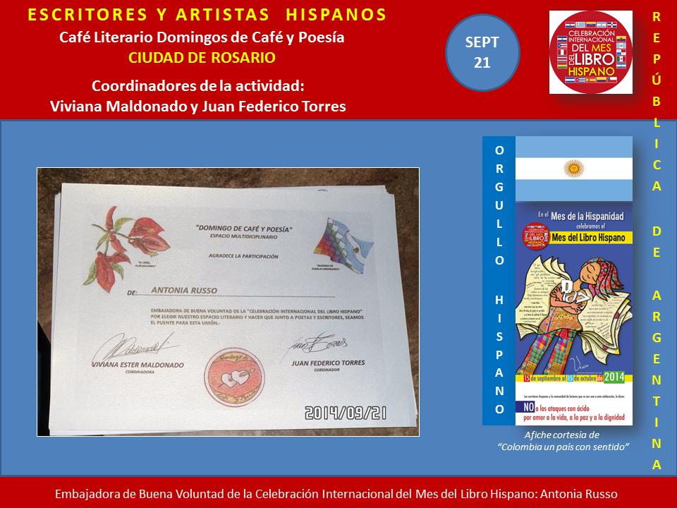 Mes del Libro Hispano Rosario Argentina (2)