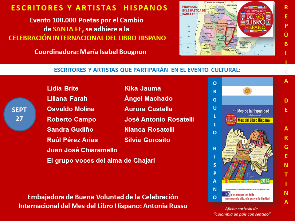 Mes del Libro Hispano Santa Fe