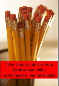 Taller de Escritura para niños Mes del Libro Hispano