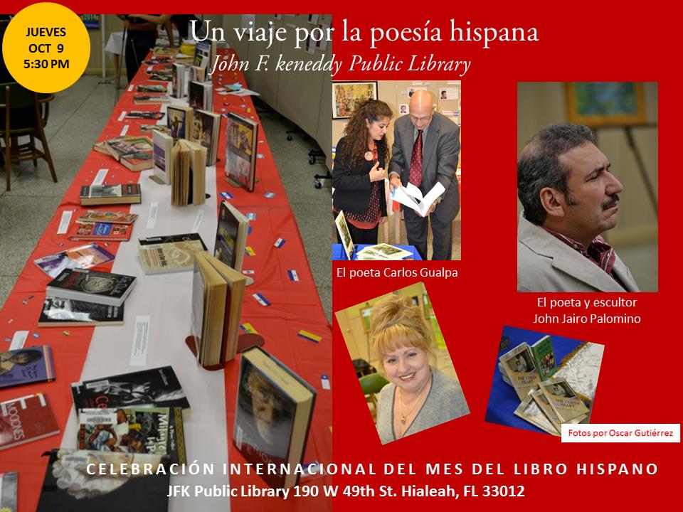 Homenaje a Poetas Hispanos en la JFK-  Mes del Libro Hispano (10)