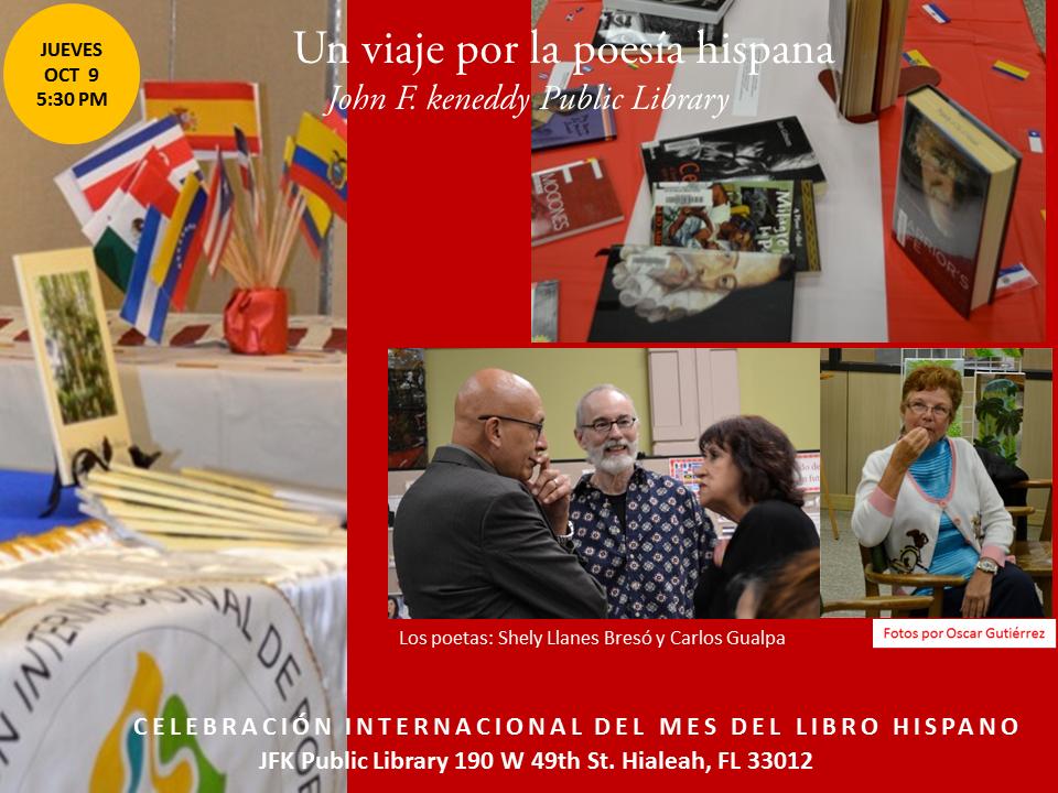 Homenaje a Poetas Hispanos en la JFK-  Mes del Libro Hispano (11)
