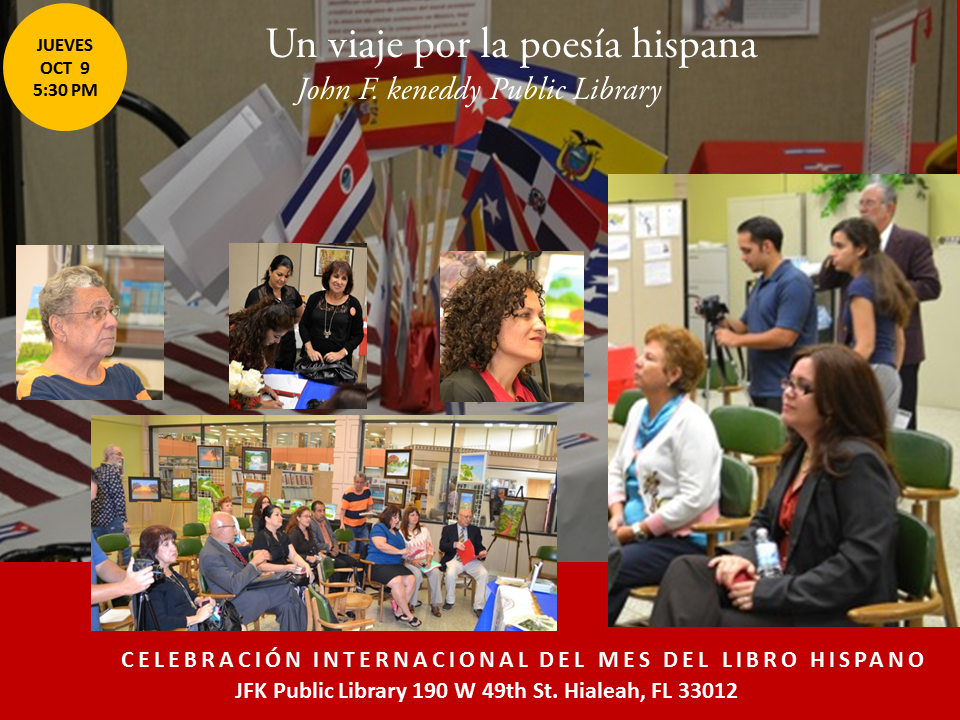Homenaje a Poetas Hispanos en la JFK-  Mes del Libro Hispano (12)