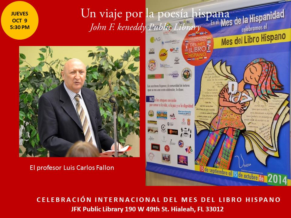 Homenaje a Poetas Hispanos en la JFK-  Mes del Libro Hispano (16)