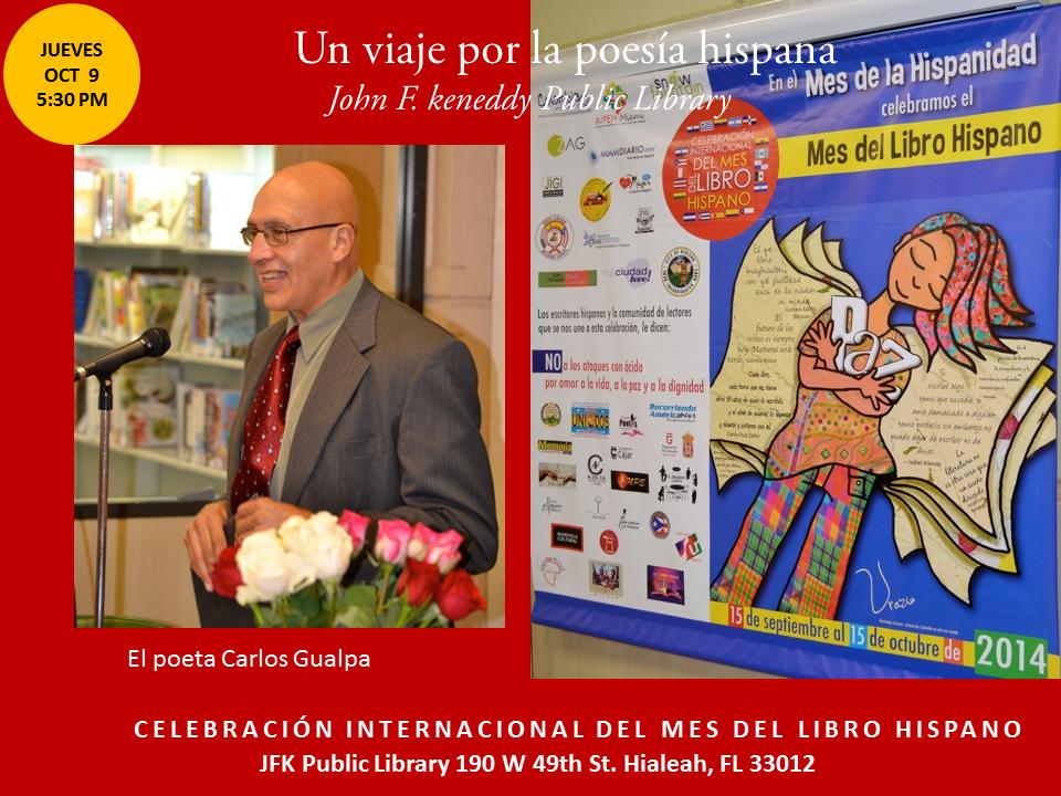 Homenaje a Poetas Hispanos en la JFK-  Mes del Libro Hispano (17)