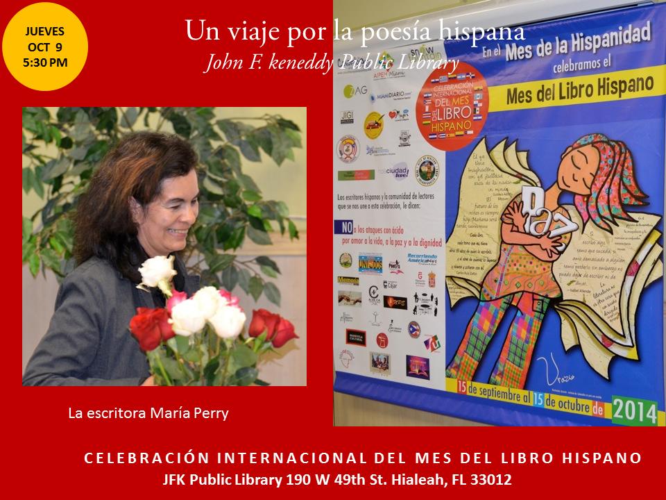 Homenaje a Poetas Hispanos en la JFK-  Mes del Libro Hispano (18)