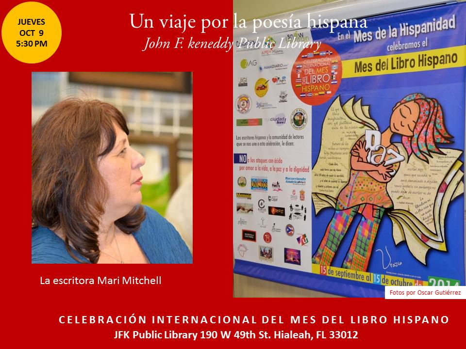 Homenaje a Poetas Hispanos en la JFK-  Mes del Libro Hispano (19)