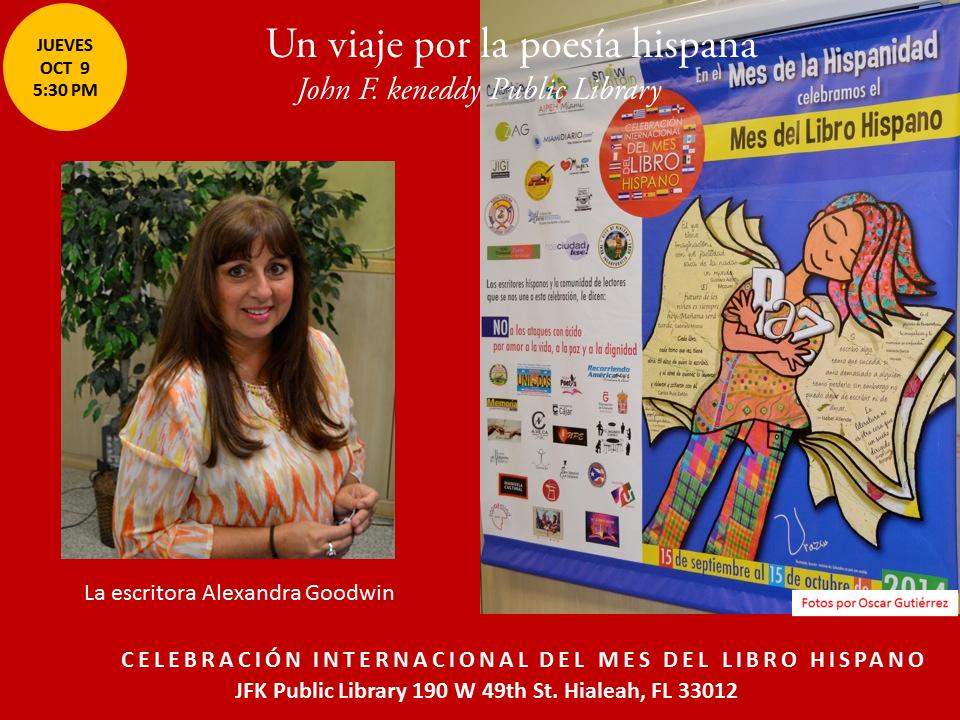 Homenaje a Poetas Hispanos en la JFK-  Mes del Libro Hispano (2)