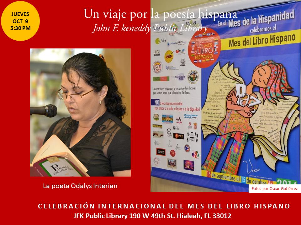 Homenaje a Poetas Hispanos en la JFK-  Mes del Libro Hispano (20)