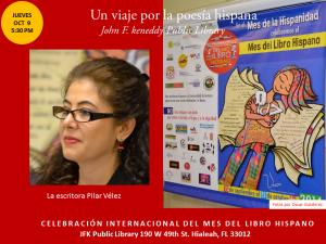 Homenaje a Poetas Hispanos en la JFK-  Mes del Libro Hispano (3)