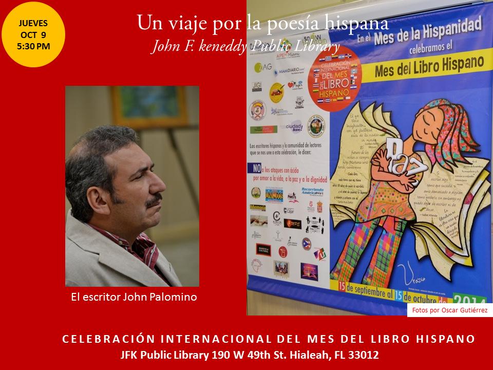 Homenaje a Poetas Hispanos en la JFK-  Mes del Libro Hispano (4)