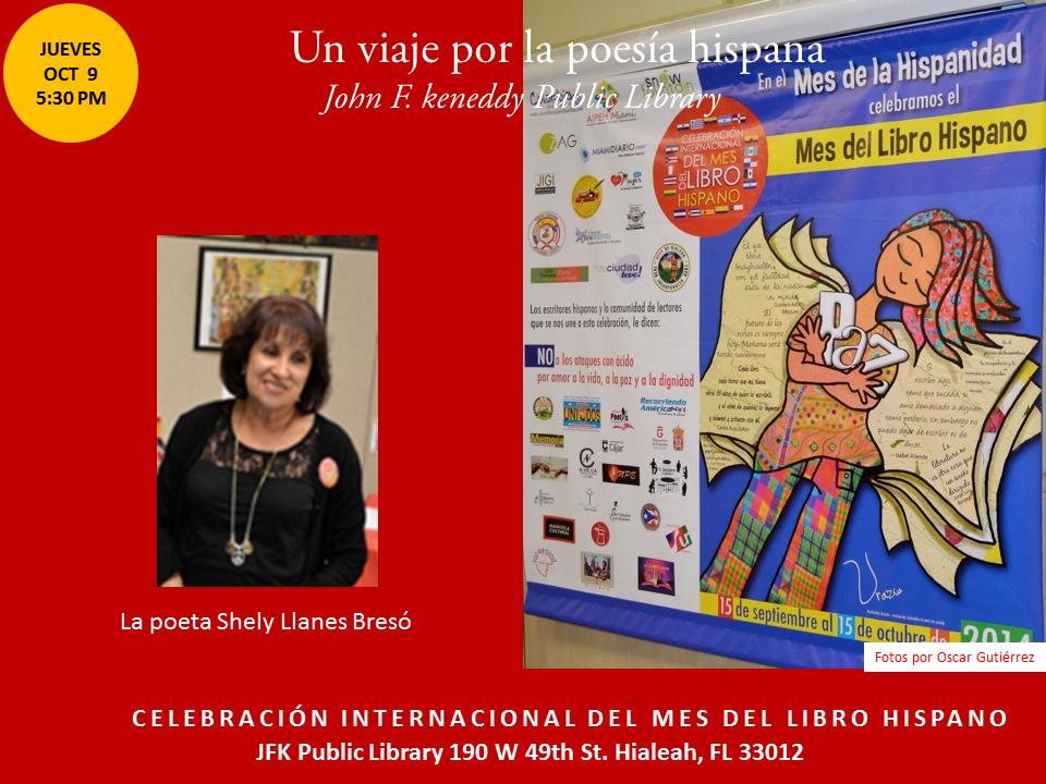 Homenaje a Poetas Hispanos en la JFK-  Mes del Libro Hispano (5)
