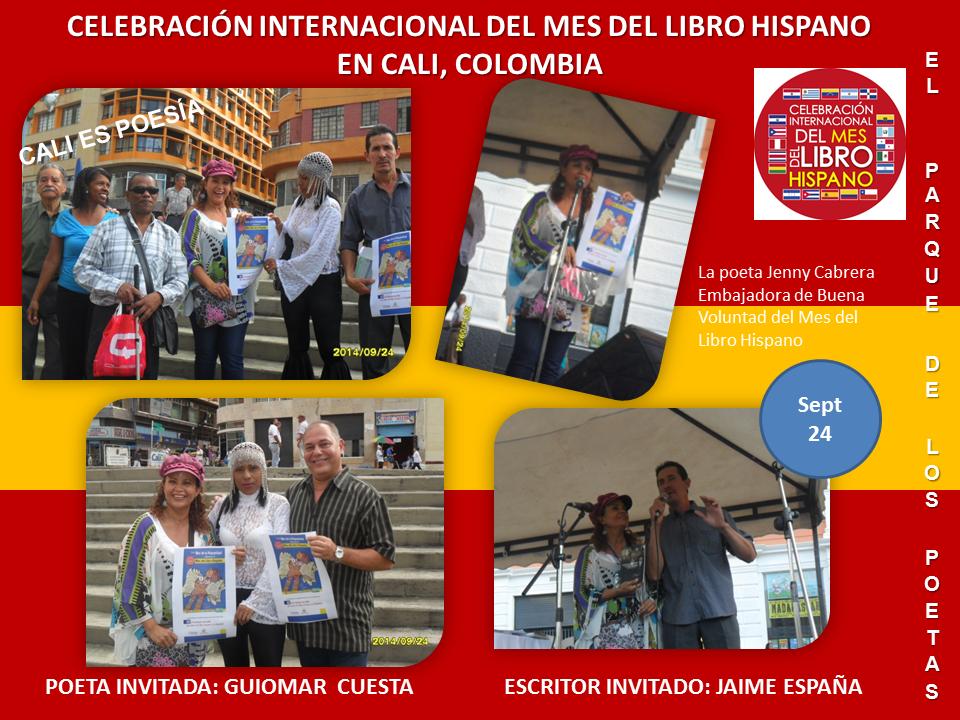 Mes del Libro Hispano Cali Parque de los Poetas (2)