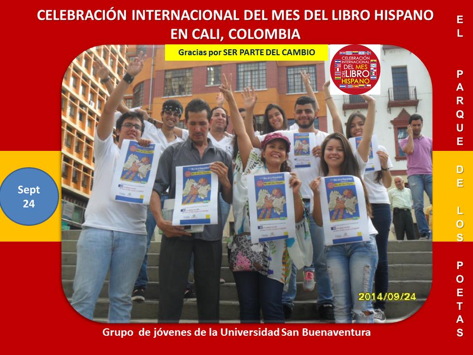 Mes del Libro Hispano Cali Parque de los Poetas (5)