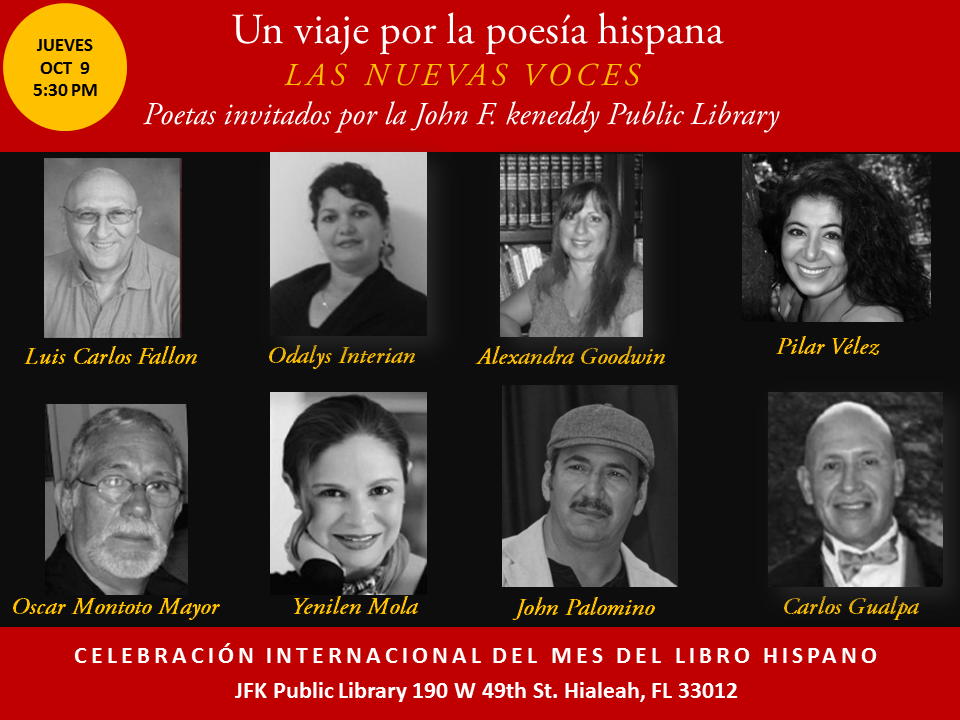 Mes del Libro Hispano JFK Public Library (1)