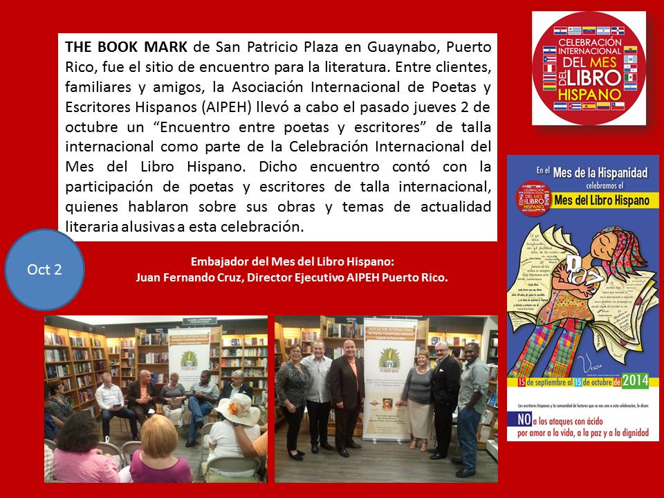 Mes del Libro Hispano en Puerto Rico en The Book Mark2014.jpg