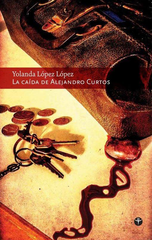 YOLANDA LOPEZ Portada de La Caida de Alejandro Curtos