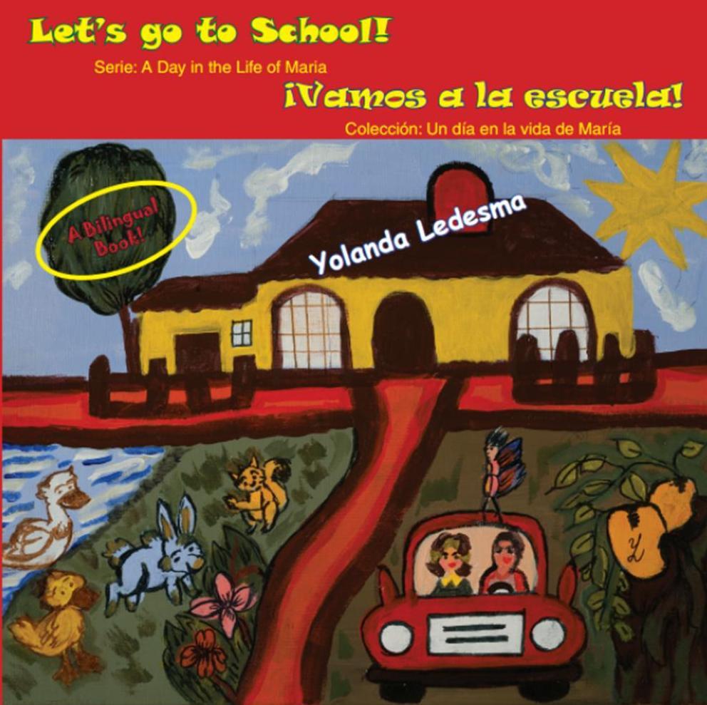 Yolanda Ledesma lets go to school portada