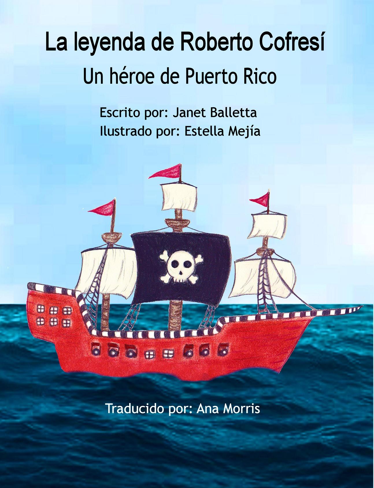 Janet Balleta Spanish Pirate Front